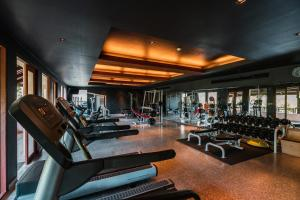The fitness center and/or fitness facilities at Pimalai Resort & Spa - SHA Plus