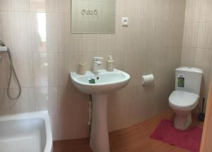 Ванная комната в Гостевой Дом Семья