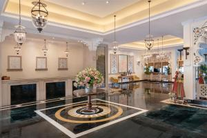 The lobby or reception area at Trident Udaipur