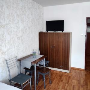 Telewizja i/lub zestaw kina domowego w obiekcie Domek w górach Jana III Sobieskiego 12, 33-350 Piwniczna-Zdrój, Polska Apartament