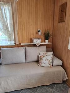 A seating area at Ausekla Street Holiday Home