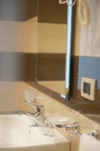 A bathroom at Hotel Sofia