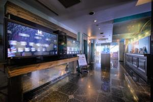 The lobby or reception area at Water Hotel Mw (Love Hotel)