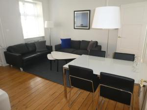 A seating area at Lillegrund