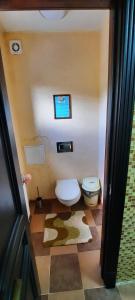 Ванная комната в Sportivno-turisticheskaya baza Oshten