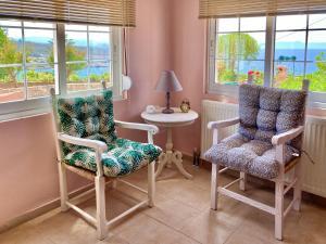 Area soggiorno di Seashore Apartments
