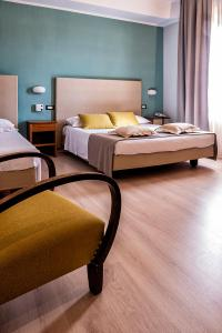 A bed or beds in a room at Aurora Girarrosto