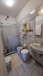 Koupelna v ubytování Hotel Playa Blanca