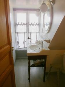 Salle de bains dans l'établissement Loge & Broc