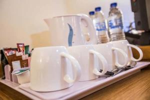 Coffee and tea-making facilities at Tollgate Hotel & Leisure
