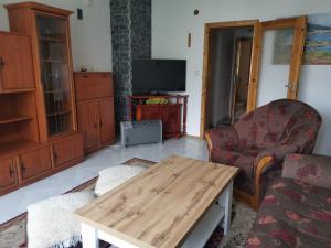 Кът за сядане в Къща Томови,стаи за гости