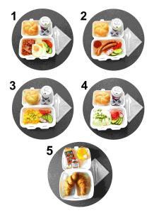 Opcje śniadaniowe w obiekcie Hotel Willowa
