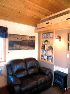 A seating area at Prairie Rose Cottage