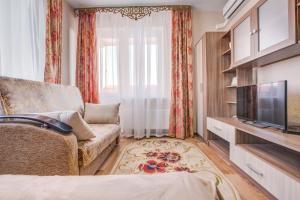 Гостиная зона в Апартаменты на Ленинском проспекте 124 Б