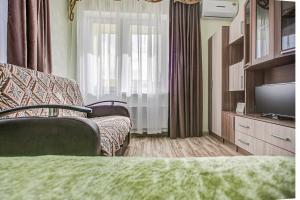 Гостиная зона в Apartment on Leninskaya
