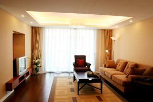 Гостиная зона в Regalia Service Residences Suzhou