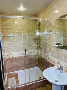 Ванная комната в Гостевой дом Никлена
