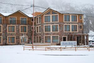 Chalten Suites Hotel during the winter