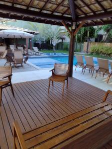 The swimming pool at or close to Praia do Forte Kauai Bahia