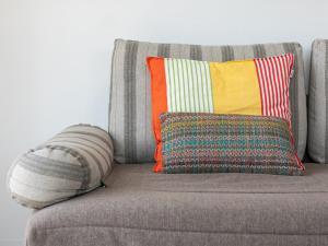 A seating area at Appartement Saint-Jean-de-Luz, 2 pièces, 4 personnes - FR-1-4-426