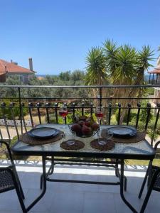 A balcony or terrace at Stefano's Apartments *Marigold //*Broom