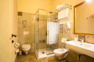 Ein Badezimmer in der Unterkunft Hotel Villa Gli Asfodeli