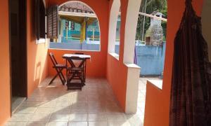 A balcony or terrace at Casadateca
