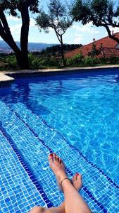 The swimming pool at or near Quinta da Mata - Turismo de Habitação