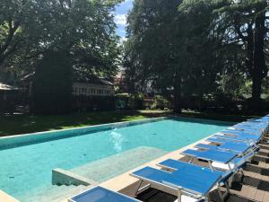 The swimming pool at or near Hotel Stiegl Scala