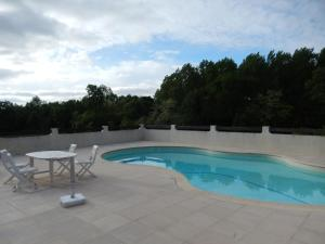 The swimming pool at or near Chateau Rousselle