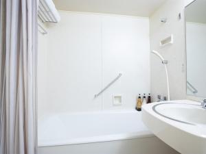 A bathroom at Hotel New Nagasaki