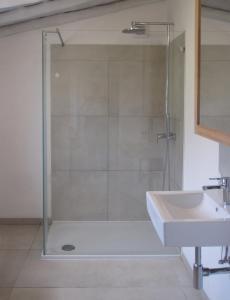 Uma casa de banho em Casa Emilia