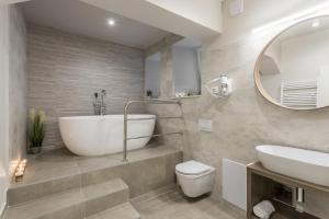 Kúpeľňa v ubytovaní COR ROOMS
