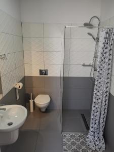 Łazienka w obiekcie Bemma Apart Hostel