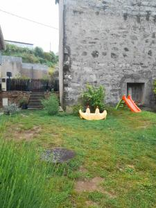 A garden outside Chambres d'Hôtes Villa Cardellini