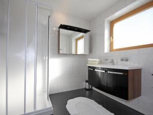 Ein Badezimmer in der Unterkunft Apartment Obernberg
