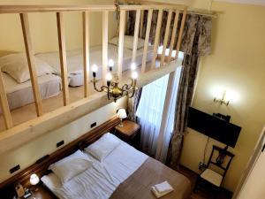Letto o letti in una camera di Tchaikovsky House