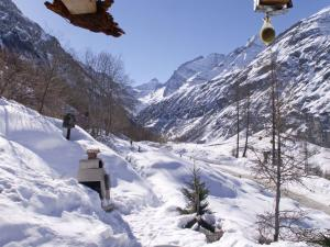 Chalet Epilobes during the winter