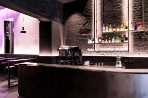 The lounge or bar area at Heart Hotel Milano