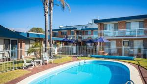 The swimming pool at or near Surfside Merimbula Holiday Apartments