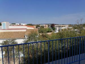 A balcony or terrace at Hostal Pepe