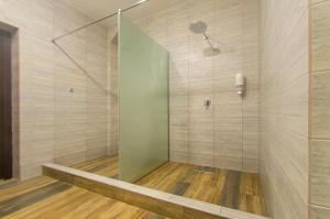 Ванная комната в База отдыха «Ореховая роща»
