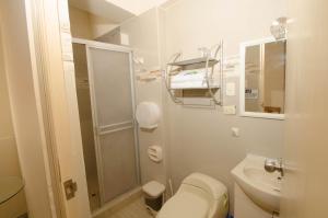 A bathroom at Hotel Piura Sol de Grau