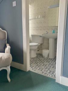 A bathroom at The Dornie
