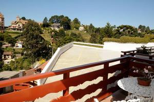 A balcony or terrace at Pousada da Lua