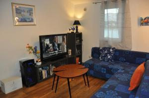 A television and/or entertainment centre at Olive Tree Apartment
