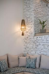 A seating area at Levantes Ios Boutique Hotel