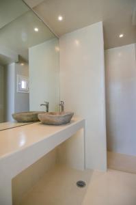 A bathroom at Levantes Ios Boutique Hotel