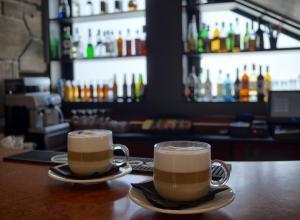 Hol lub bar w obiekcie Ośrodek Wypoczynkowy Start