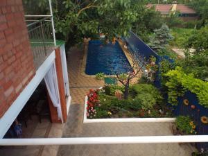 Вид на бассейн в Guest house on Pavlova 75 или окрестностях